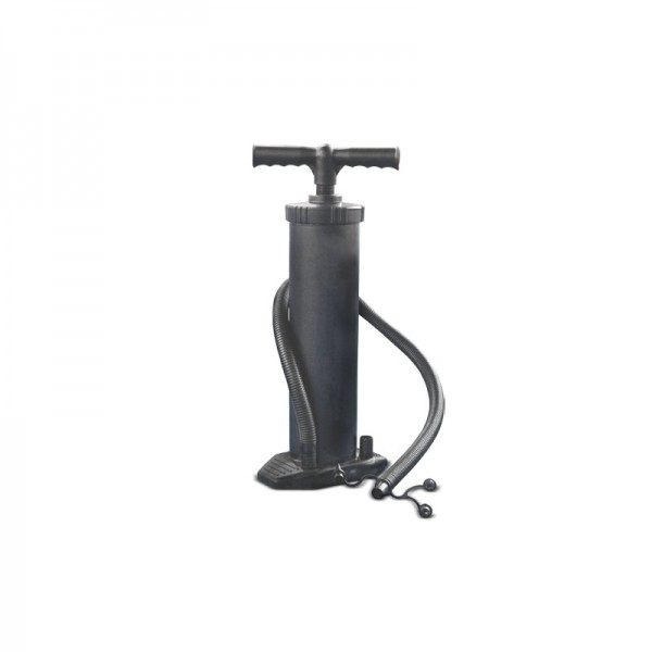 Included hand pump
