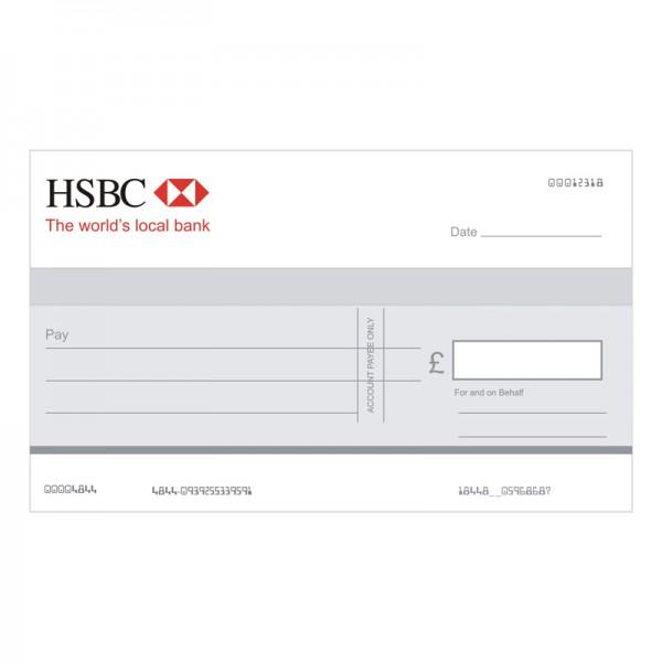 Big Cheque - HSBC