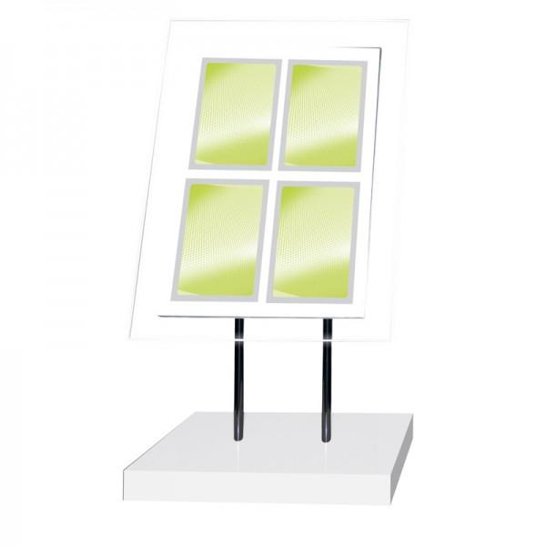 Multi Frame Freestanding LED Illuminated Display
