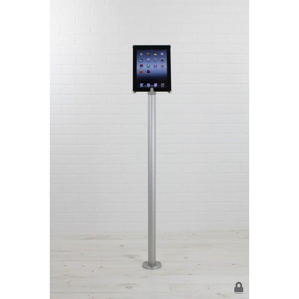 Floor mounted iPad holder