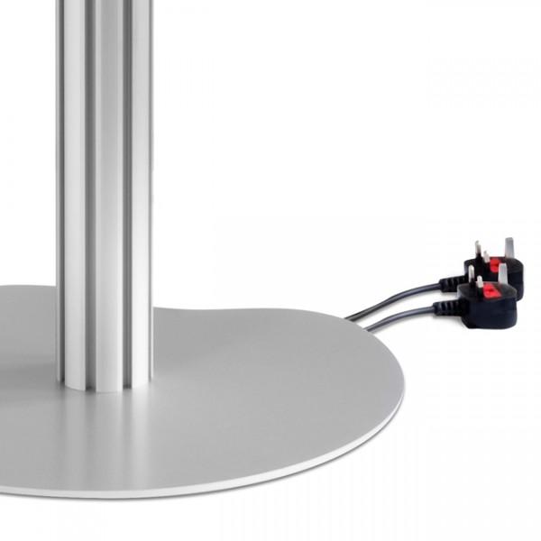 UK plugs supplied
