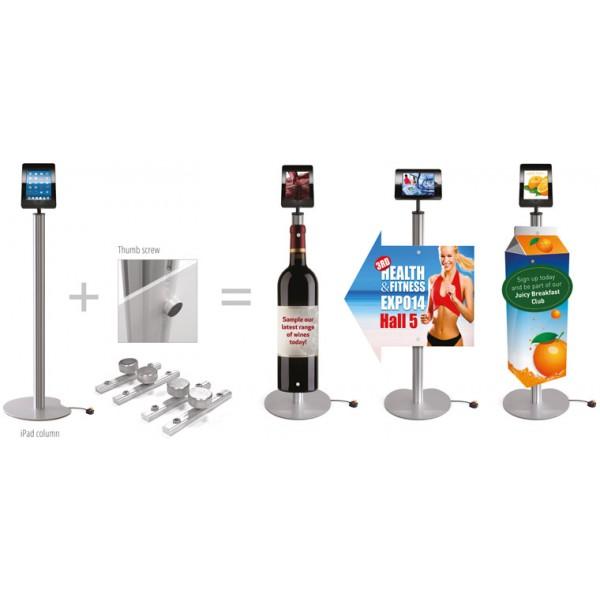 Easy Assemble Graphic Panel for Tablet Kiosk