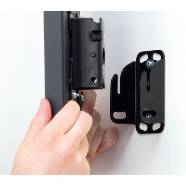 Easy to attach to wall