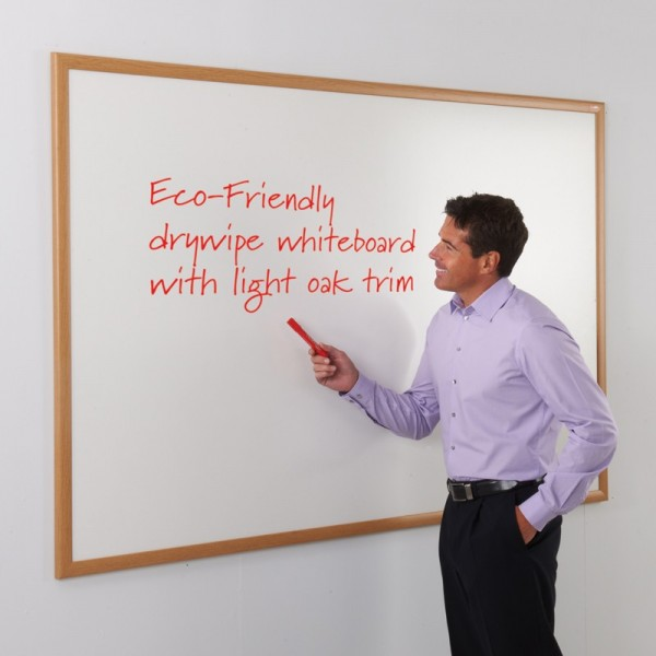 Light Oak Whiteboard for Schools