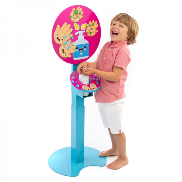 Kids Multi-Height Hand Sanitising Station