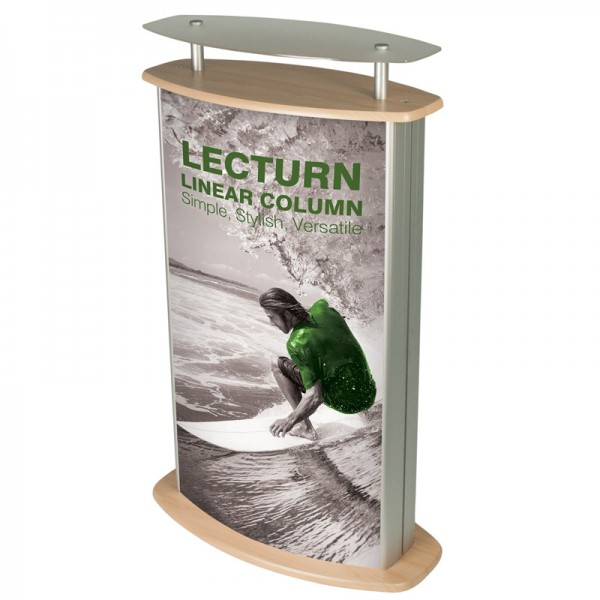 Podium With Graphics