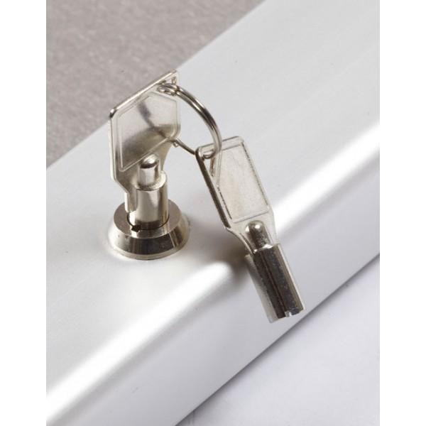 Key lock pin board