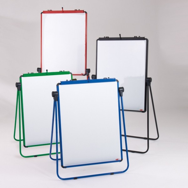 Loop Leg Flipchart Easel - available in 4 colours