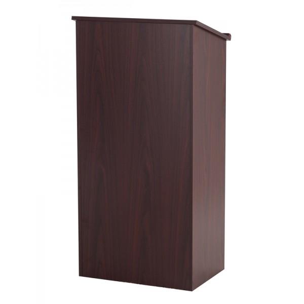 Mahogany wooden podium