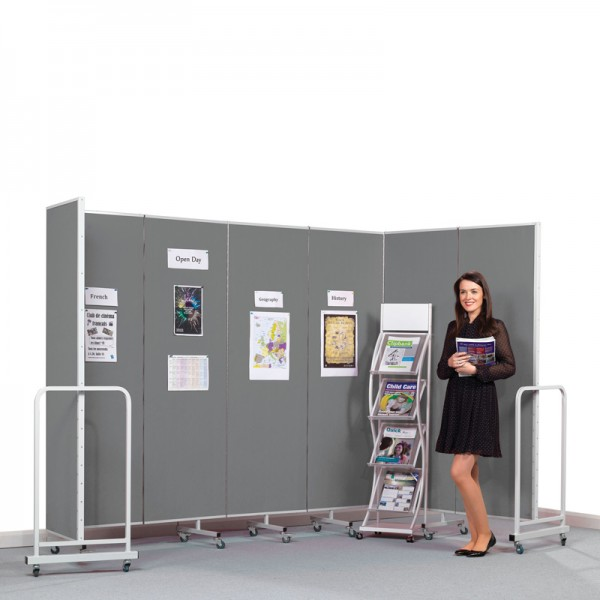 Wheeled Partition Screen