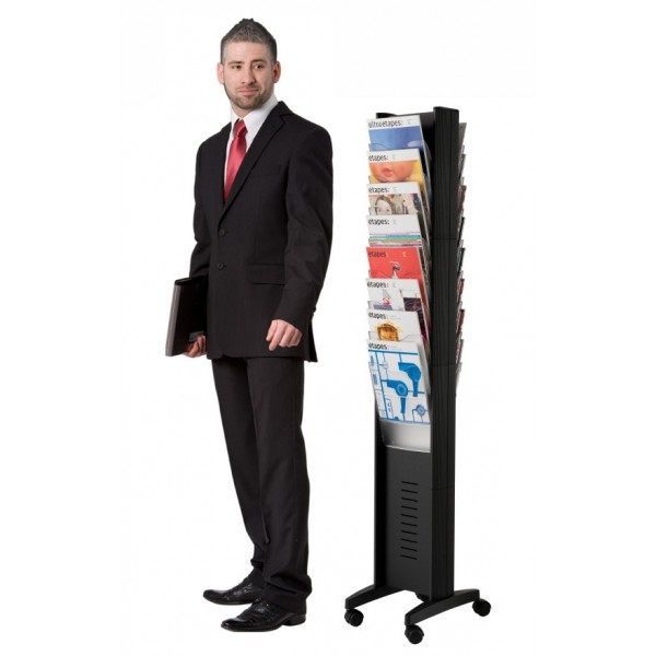 Floor Standing Literature Holder