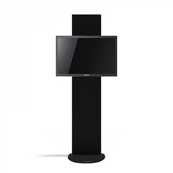 Portable Digital Screen Stand With Included Black Fabric Cover