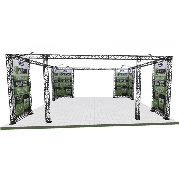 7x7m exhibition frame system