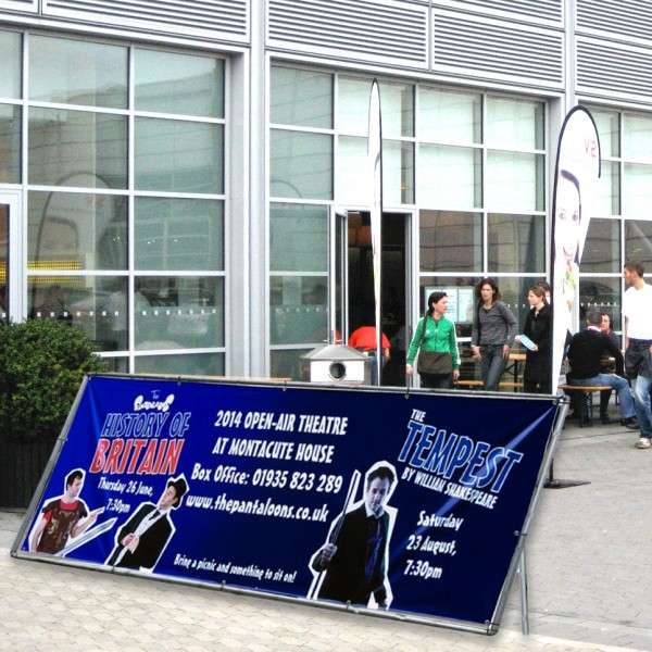 Ideal for sporting events and trade shows