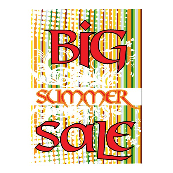 Poster - Big Summer Sale - 196