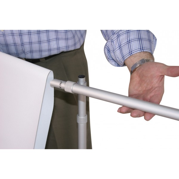 Tensioned banner stand