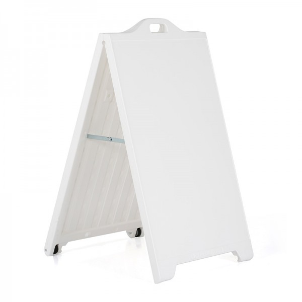 Double sided A-frame sign