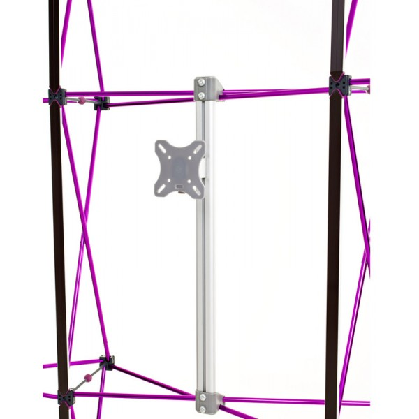 Pop Up Monitor Mount - Rear View