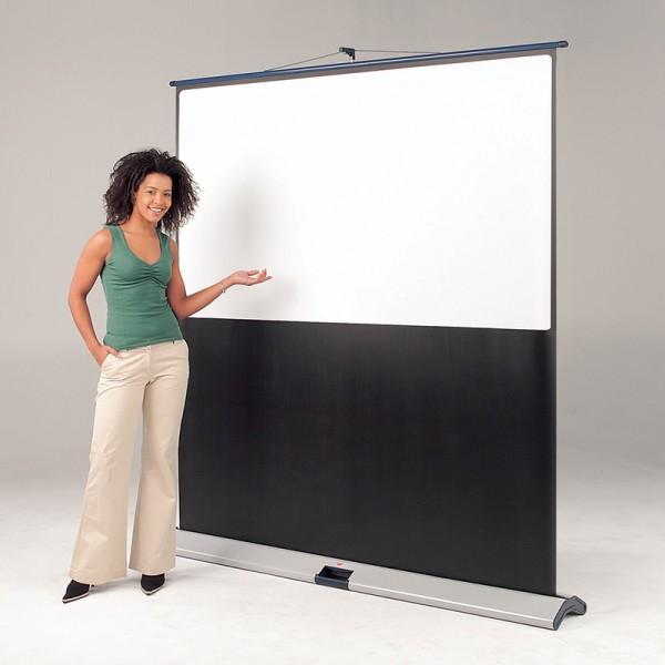 Floor standing projector screen