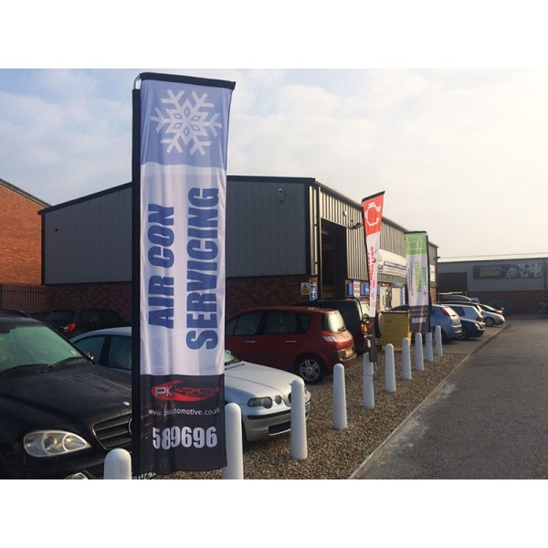 Car Forecourt Flags