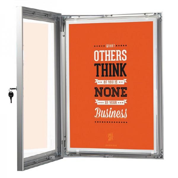100% waterproof outdoor poster frame