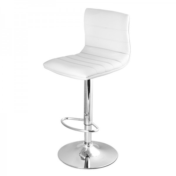 Premium Bar Stool - White