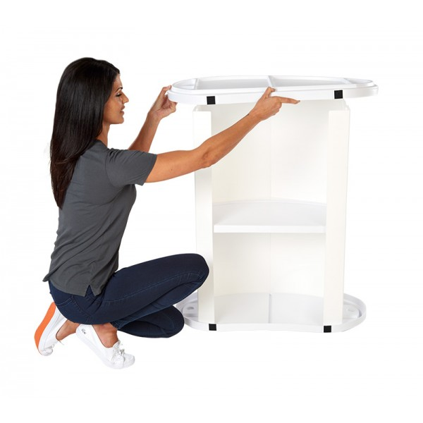 Easy to assemble counter