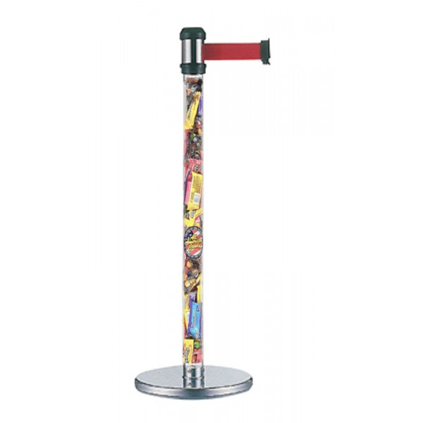 fillable clear pole