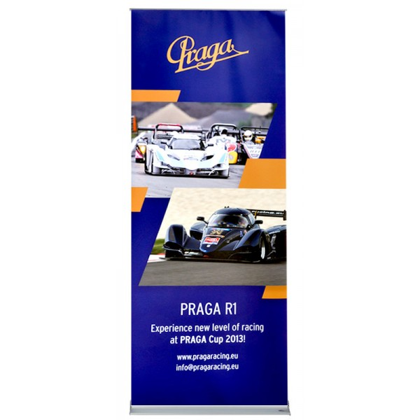 Premium Banner Stand with lifetime guarantee