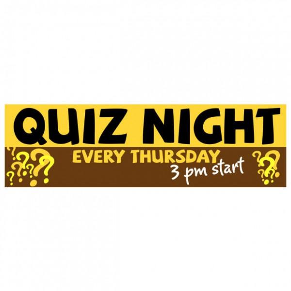 Banner - Quiz Night - 381