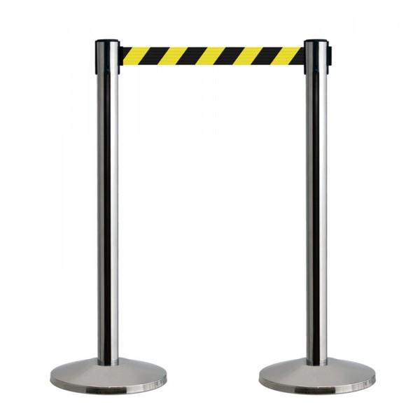 Hazard warning barrier