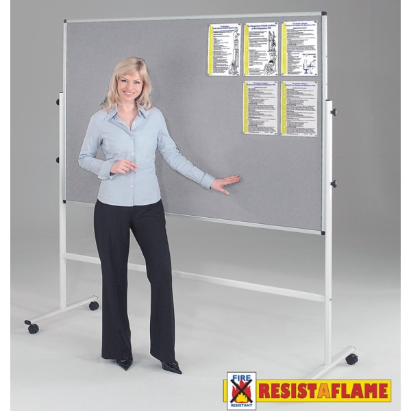 resistaflame notice board