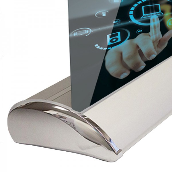 Attractive Chrome effect end plates