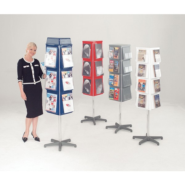 Brochure Carousel Available in a Choice of Colours