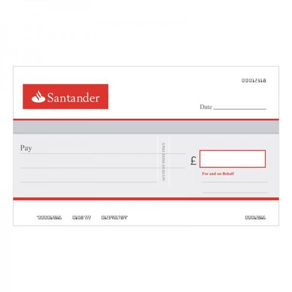 Big Cheque - Santander