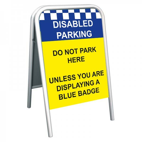 School Pavement Sign - Disabled Parking