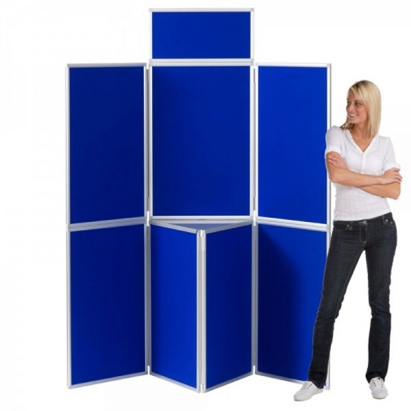 7 Panel folding Aluminium display