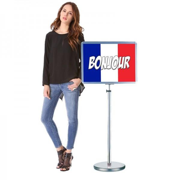 Free Standing Indoor Signboard Holder