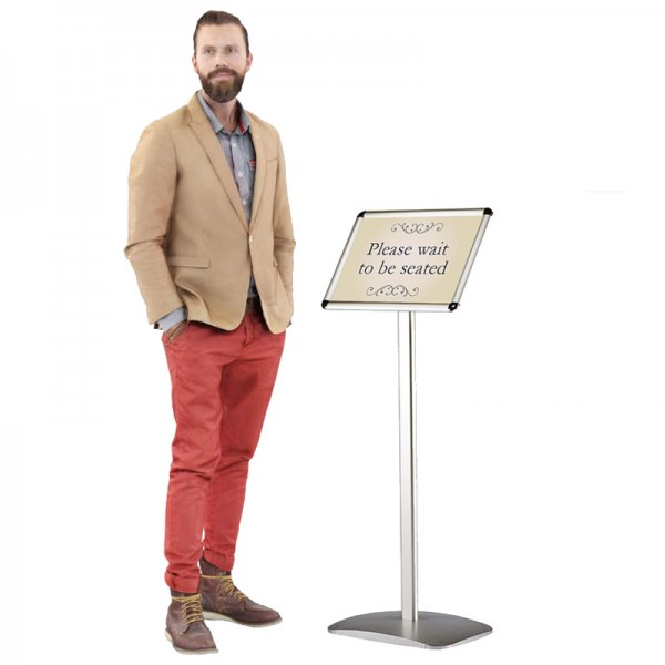 Free Standing Sign Holder Display Stand - A4