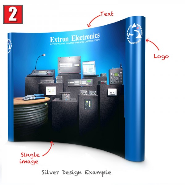 Silver Pop UP Stand Design
