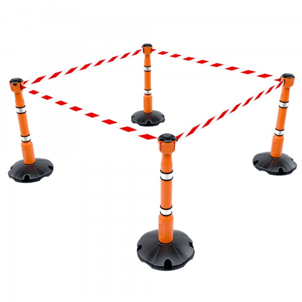 Skipper 9m Retractable Belt Barrier System