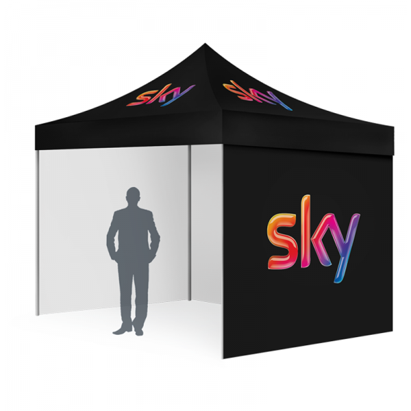 3x6m Custom printed canopy