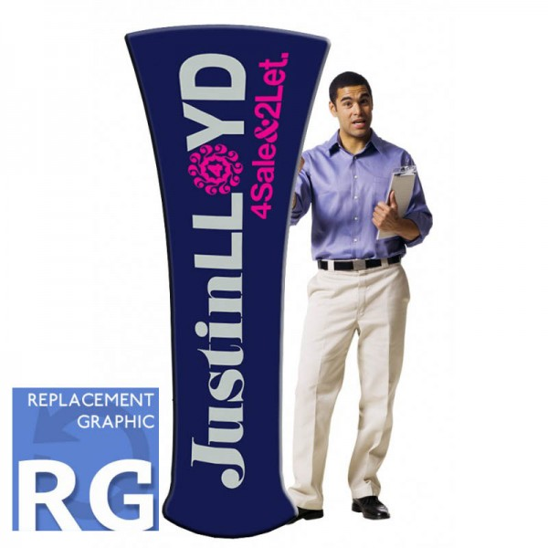 Fabric Stands Replacement Graphics - Tower
