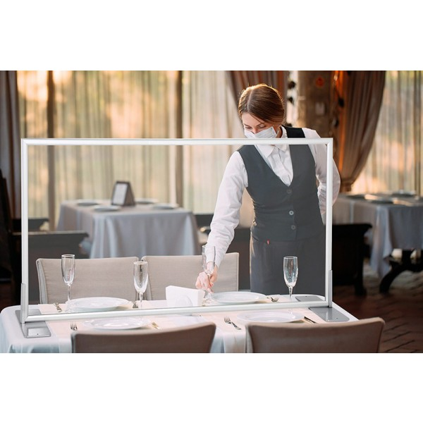 Table Screen Ideal for Restaurants