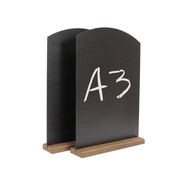 Table Top Chalk Boards - A3
