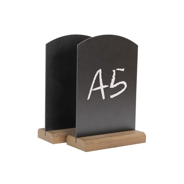 Table Top Chalk Boards - A5