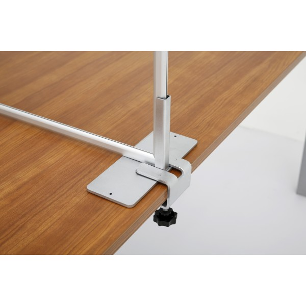Optional table clamps for a secure fitting