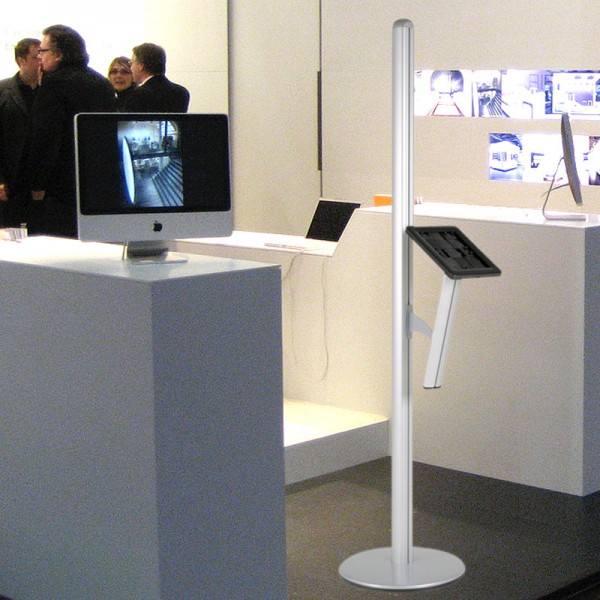 Tablet kiosk freestanding