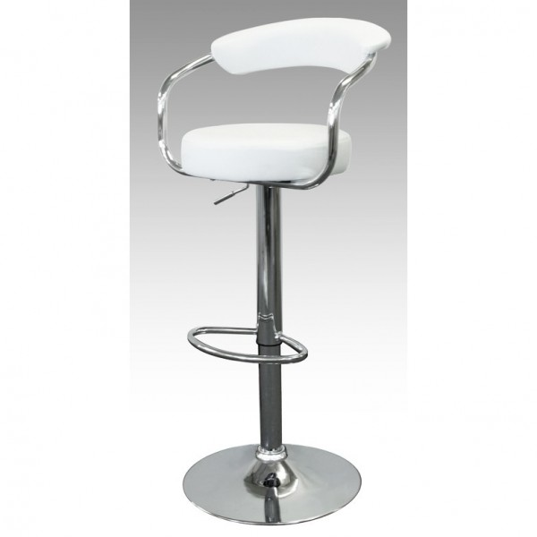 Trade Show Bar Stool - White