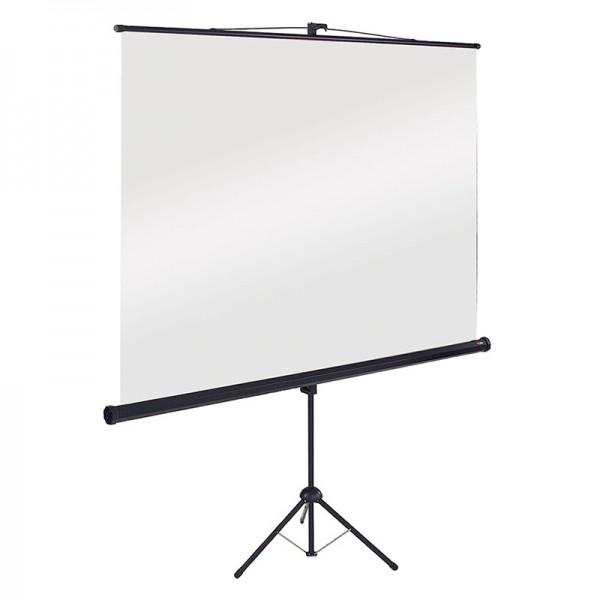 Tripod floor standing projector screen